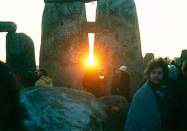 Stonehenge at the Winter Solstice